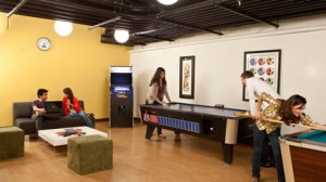 One of the many recreational spaces we can use in the dorm in NYC at our summer culinary program NYC!