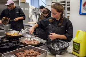 More savory goodness at the campusNYC culinary arts summer program.